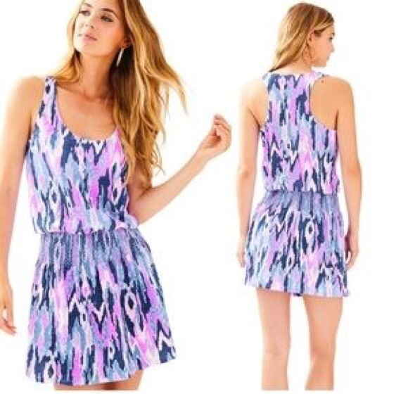 "69fc70294b0 Lilly Pulitzer Dresses   Skirts - Lilly Pulitzer Tideline ""Amethyst One too  Many"""
